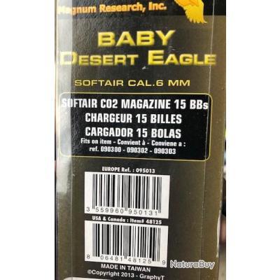 Chargeur 15 Billes Baby Desert Eagle Cybergun