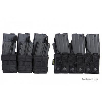 triple poche noire chargeur m4/m16