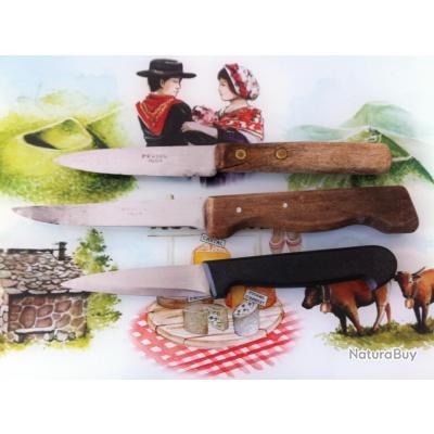 lot de 3 couteaux de cuisine ancien couteaux de table et de cuisine 3114625. Black Bedroom Furniture Sets. Home Design Ideas