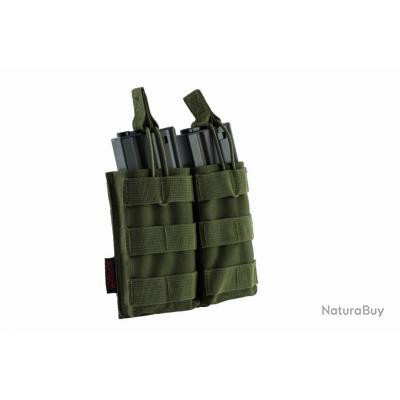 Double poche molle pour chargeur M4 od Nuprol