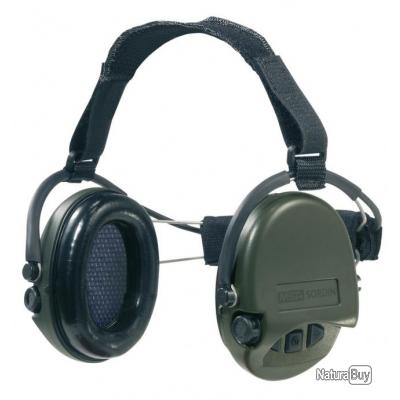 casque supreme pro neckband msa haut de gamme neuf casques anti bruits lectroniques 3126033. Black Bedroom Furniture Sets. Home Design Ideas
