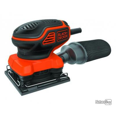 Black and decker ponceuse vibrante 1 4 feuille 220w - Ponceuse vibrante black et decker ...
