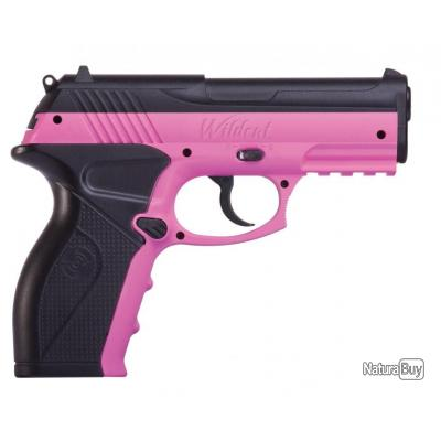 Pistolet Crosman P10 WILDCAT PINK - 4.5 -CO2