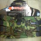 harnais 6+1 spyder camouflage+ tour de cou