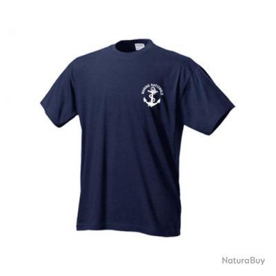 t xxl tshirt tee shirt marine nationale bleu marine tee shirts militaria 3143852. Black Bedroom Furniture Sets. Home Design Ideas