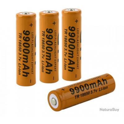 1 pi ce batterie rechargeable pile 18650 gtf 3 7 volts. Black Bedroom Furniture Sets. Home Design Ideas