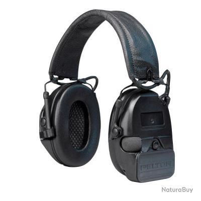 casque anti bruit aearo peltor comtac swat noir destock casques anti bruits lectroniques. Black Bedroom Furniture Sets. Home Design Ideas