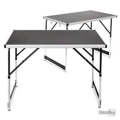 Table pliante multifonction 100 x 60 cm camping pliable for Table pliante exterieur professionnel