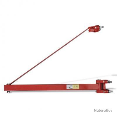 Potence pour palan 600 kg bras cadre treuil électrique 3402138