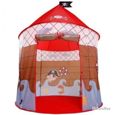 Tente de jeu pour enfants jeux jouets cabane jardin aire de jeux pirate  0101014