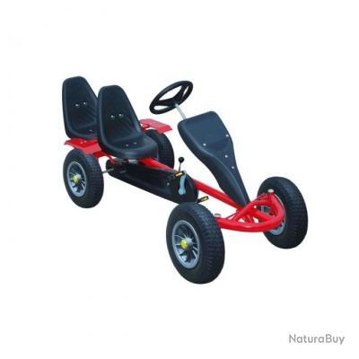 Go-kart voiture à pédale à 2 places jeux jouets 0102007 - Jouets ... 869797b0bb11