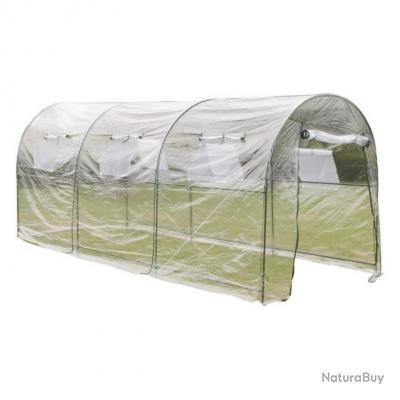 Serre de jardin 450x190x200 cm jardinage plastique 1602006