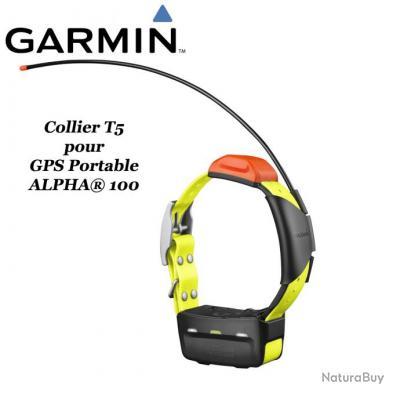 GARMIN ALPHA® 100 GPS portable et collier de suivi pour chien T5 ou TT15 avec fonction de dressage à