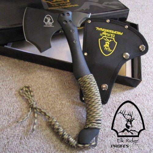 Stahl-Beil Hache de Main Camping à Refendre Extérieur Jagd