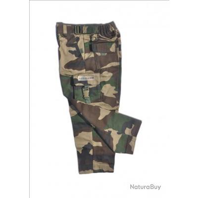 Pantalon Treillis Enfant Camo CE 4 ans  BOMALAND