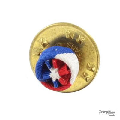 Attribut Rosette Boutonniere 6mm Medaille Travail 30 Ans Sur Pin S