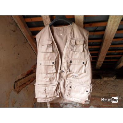GILET REPORTER / CHASSE