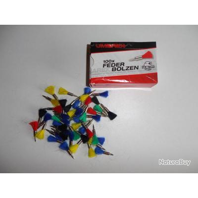 Accessoire Boite de 100 Plombs Flechettes Umarex pour Arme de  Cal.4.5 à Air