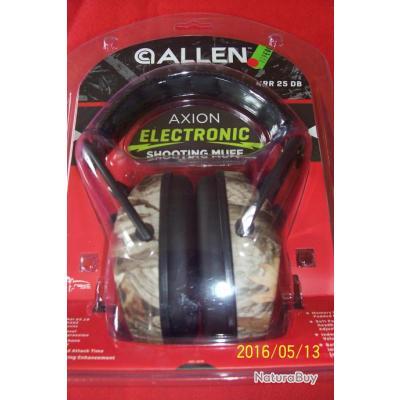 casque Allen électronique 25 DB, camouflage
