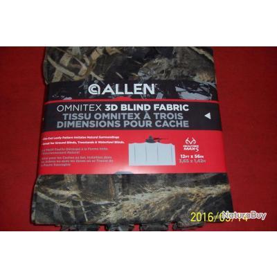 Allen, filet camouflage, pour poste d'affût, 3D,