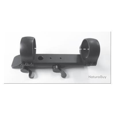 Montage MAKuick avec colliers de 30 mm pour kipplauf et express avec rail queue d´arronde de 12 mm,
