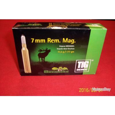 Balles calibre 7 REM MAGNUM,  Brenneke