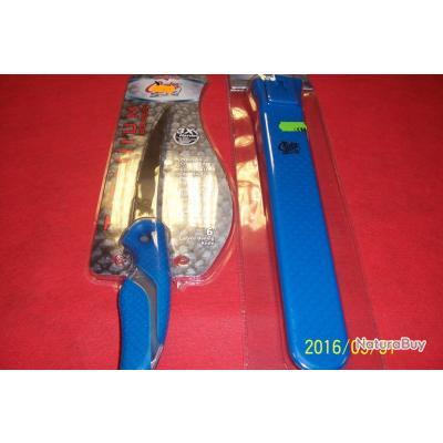 Cuda, couteau pour lever les filets de poissons,avec étui,