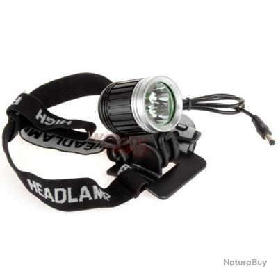Lampe Frontale Et Velo Ultra Puissante 3 Led 3800 Lm Xm L T6 Avec