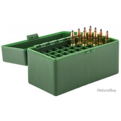 Boite Mégaline de rangement 50 munitions 30-06