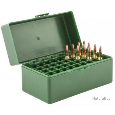 Boite Mégaline de rangement 50 munitions 243 WIN