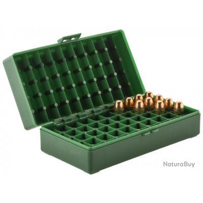 Boite Mégaline de rangement 50 munitions 45 ACP