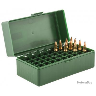 Boite Mégaline de rangement 50 munitions 222 / 223