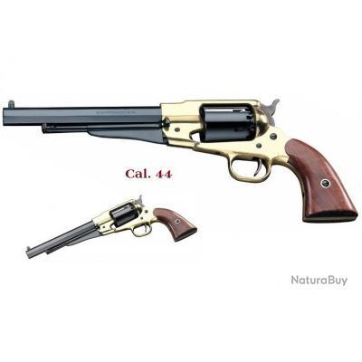 Revolver à poudre noir Revolver Remington texas laiton 1858 Cal. 44  (Pietta)