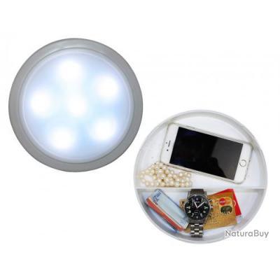 Coffre fort - version : lampe de mur avec 6 LEDs