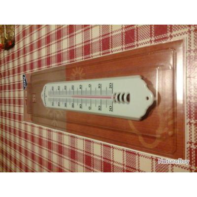 thermomètre traditionnel intérieur/extérieur