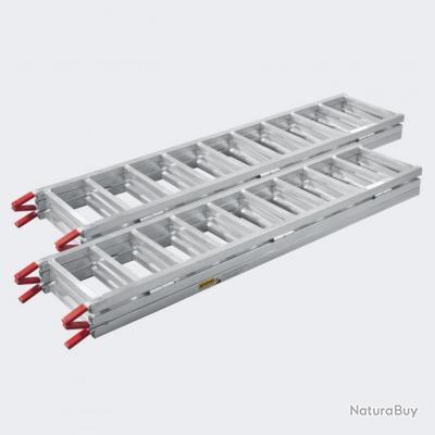 2x rampe de chargement pliable alu rampe rail collision - Rampe de chargement pliable ...