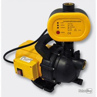 Pompe réseau d'eau domestique, portable, électrique 1200W / 3500l/h