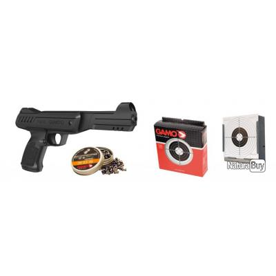 pack pistolet air comprim plombs gamo p 900 pistolets plomb et co2 3362045. Black Bedroom Furniture Sets. Home Design Ideas