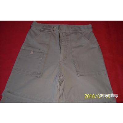 Crossby, pantalon long, transformable en short par ZIP,