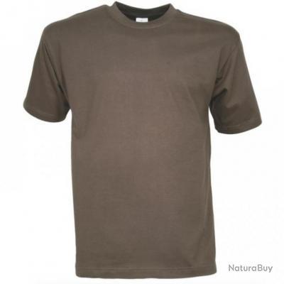 ba92cc95c99c0 TEE SHIRT ENFANT KAKI - TAILLE 8 ANS - PERCUSSION - Tee-shirts de ...
