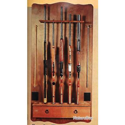 Rare r telier 5 fusils manufrance rateliers et porte for Porte exterieur occasion