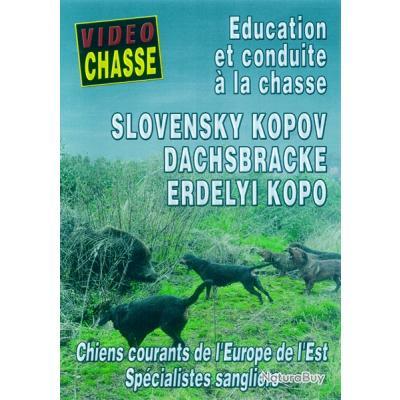 SLOVENSKI KOPOV, ÉDUCATION ET CONDUITE A LA CHASSE - DVD NEUF µ