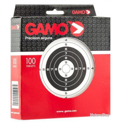 Lot 300 Cibles Gamo Carton 14X14 Gamo
