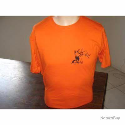 Magnifique t-shirt de chasse Renard