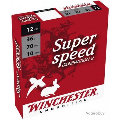 Cartouches winchester super speed 12/70 36gr Pb N° 0, 1, 4, 5  et 6 à 8.5€ la boite de 10
