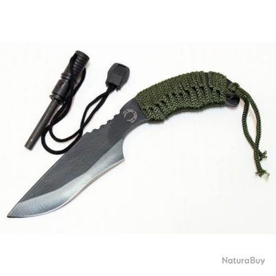 Couteau de chasse Tactical 7 pouces