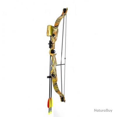 Arc de chasse / Loisir / Tir 20 livres à poulie - camouflage