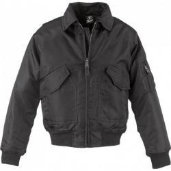 Blouson S Cwu Jacket Aviateur Noir Brandit Taille vHqxwCOw5