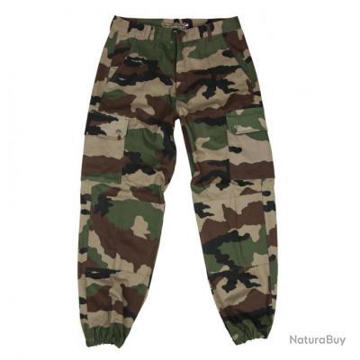 Pantalons Francais F2  - couleur camouflage -   - 111300 - lot de 5 pièces