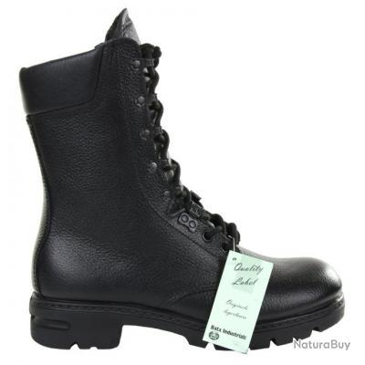 bottes de combat armée hollandaise - original -  -  noir - taille : 47 - 231180 BATA